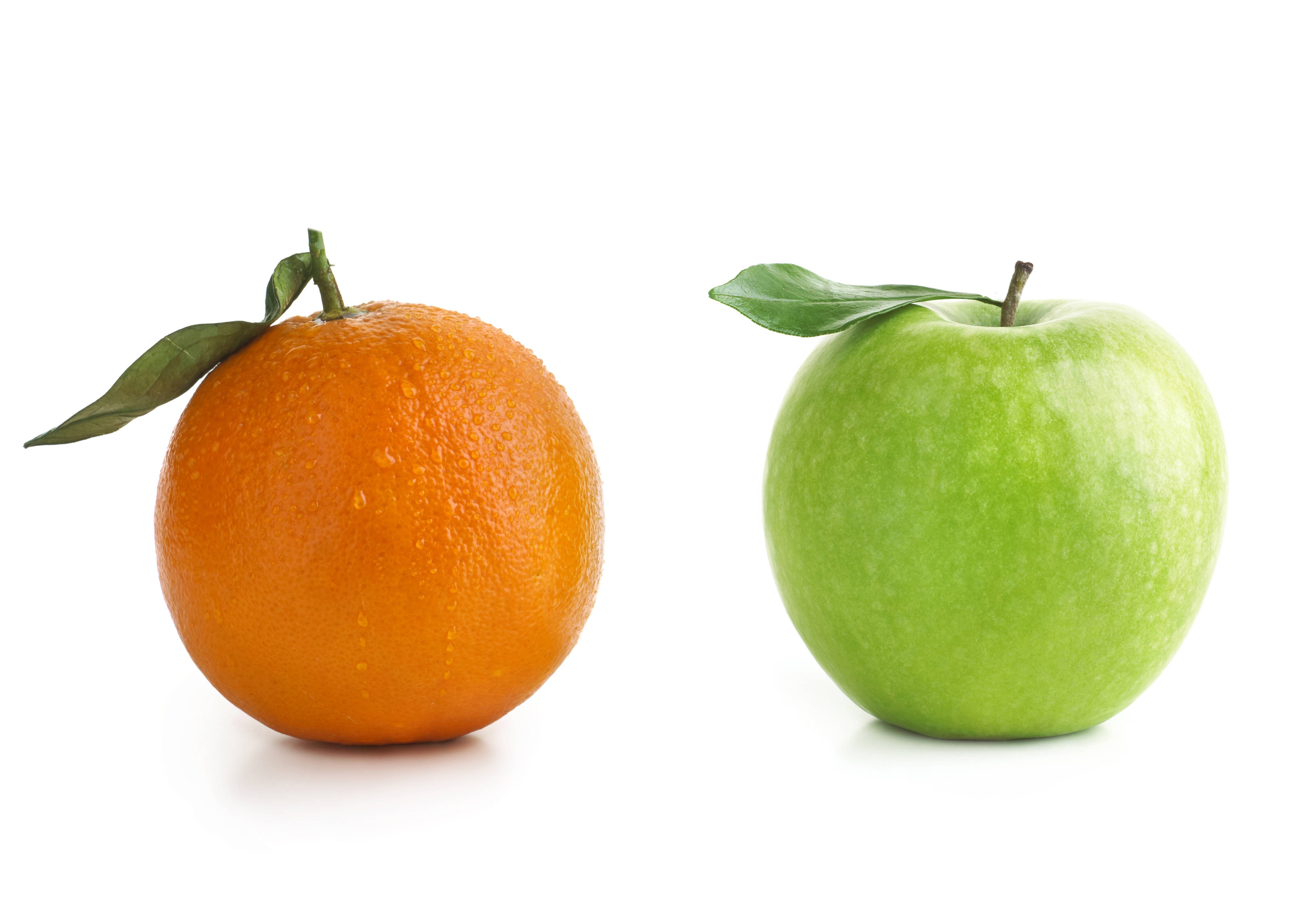 Apple vs. Organge